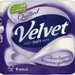 Toilet Roll Quilted Velvet